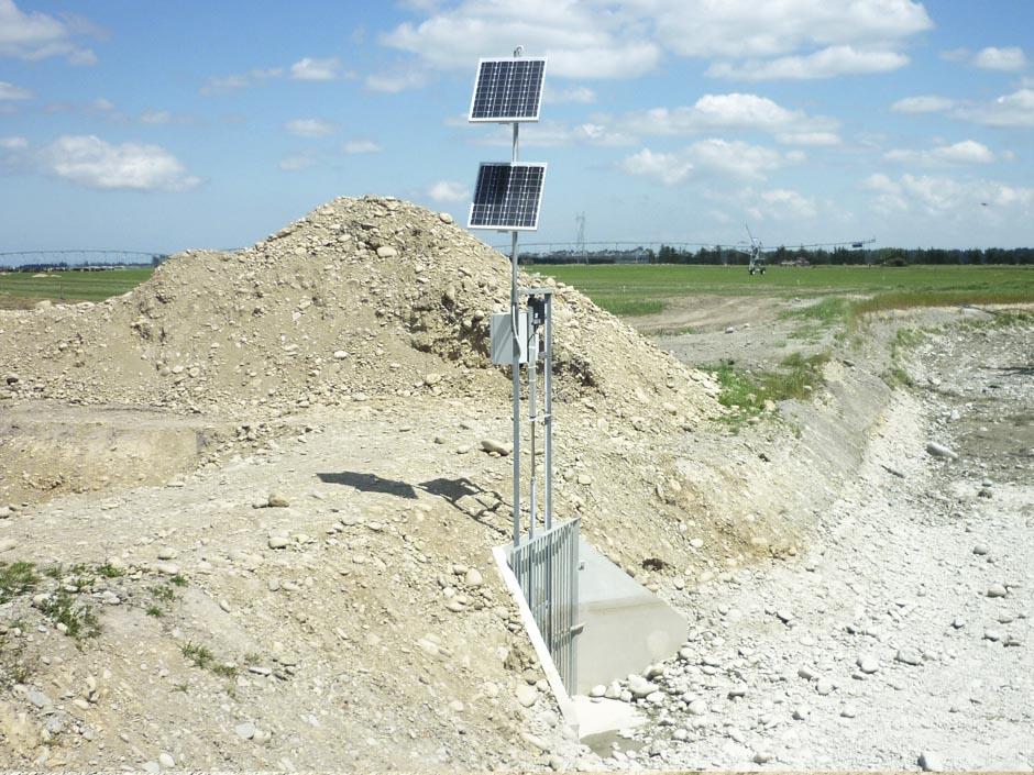 Rangatata Irrigational Gates